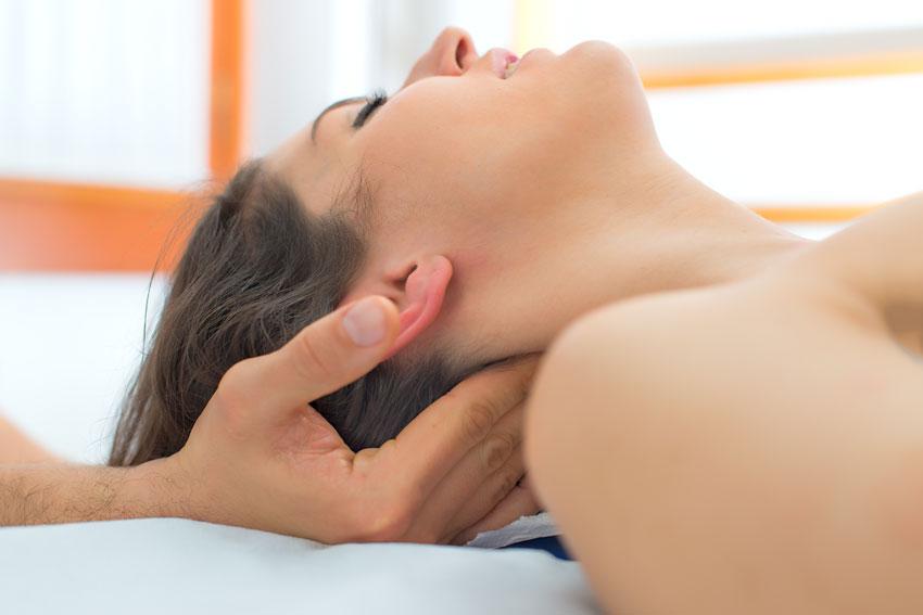 Een heerlijke massage bij BnB Bij ons op Zolder in Zoelen